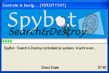 Spybot Search and Destroy Repair Startup